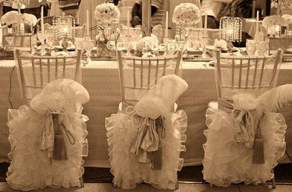 type of chairs for weddings